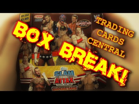 TOPPS SLAM ATTAX WWE SUPERSTARS | BOX BREAK!