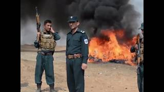 20 tons of drugs destroyed by police in Afghanistan - RUSSIATODAY