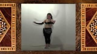 Отличный видео урок по belly dance (обучение танцу живота)