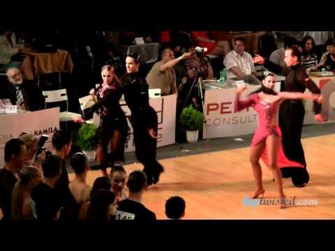 Gabriele Goffredo - Anna Matus, Brno Open 2012, WDSF int open latin, 2. round - samba
