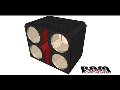 ram designs gold 10 quot bandpass box design by related