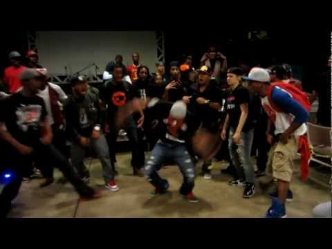 Konkrete aka Jr. Tight Eyez Vs. Bearklaw aka Twin Klash Vs. Street Noise - Konkrete Round 1