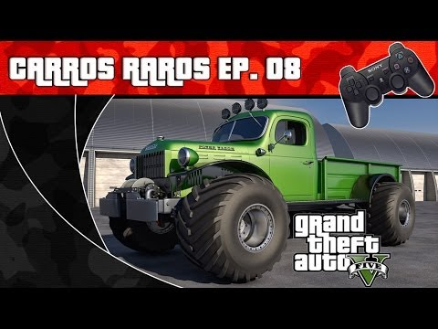 GTA V - Carros Raros Ep.08 - RAT-LOADER ( Dodge Power Wagon ) PT-BR (Sem Spoilers) )