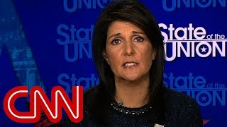 Nikki Haley: Jerusalem move pushes ball forward for peace - CNN