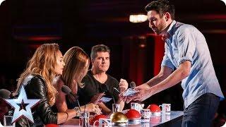 شاهد| ساحر يُبهر لجنة تحكيم Britain's Got Talent - المصري لايت