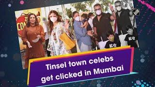 Video - Mumbai में Tinsel Town Celebs किए गए Spot