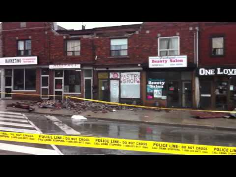 Vaughan RD. & Oakwood Ave. Building Damage