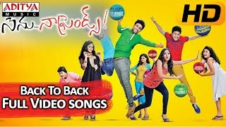 Nenu Naa Friends || Back to Back video Songs || Sandeep, Sidhartha Varma, Anjana - ADITYAMUSIC