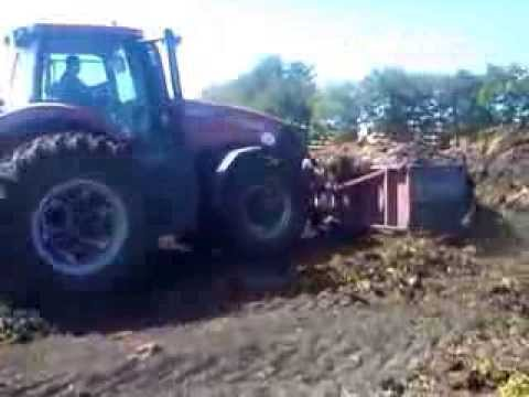 Case IH 315 Magnum test of strength