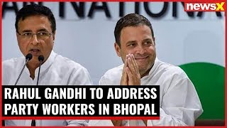 Decision 2019: Rahul Gandhi to address party workers in Bhopal - NEWSXLIVE