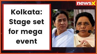 Mamata Banerjee's anti-BJP rally: Stage set for mega event as Opposition leaders arrive in Kolkata - NEWSXLIVE
