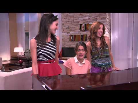 Violetta: Las chicas cantan ¨Código Amistad¨(Ep 51 Temp 2)