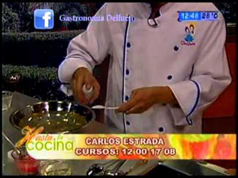 Gelatina Inyectada - Clavel y Rosa Grande - Carlos Estrada con la Sra Sarate