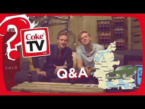 Q&A EKSTREM POST IT BIL | #CokeTVBucketlist