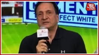 Abdul Qadir's Funny Story About He Tricked Imran Khan Into Letting Him Bowl | Salaam Cricket 2018 - AAJTAKTV