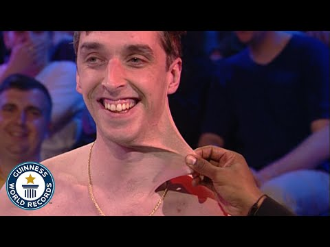 Stretchiest Skin Dehnbarste Haut der Welt Guinness World Record