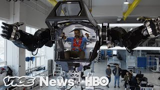We Tested Method 2, A Hulking Robot Straight Out Of Science Fiction (HBO) - VICENEWS