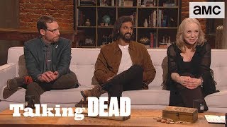 'How Do the Whisperers Travel w/ the Dead Unnoticed?' Fan Questions Ep. 915 | Talking Dead - AMC
