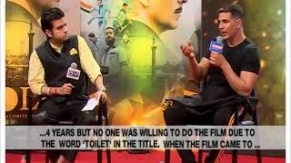 Akshay Kumar speaks to NewsX on 'Gold', Independence Day and more - NEWSXLIVE