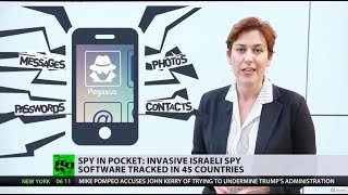Pocket Spy: Israeli surveillance software 'Pegasus' tracked in 45 countries - RUSSIATODAY