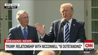Trump, McConnell speak from Rose Garden (full) - CNN