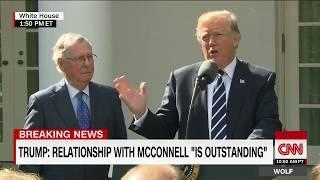 Trump, McConnell speak from Rose Garden (full) - CNN