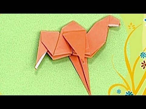 Çocuklar İçin Origami Camel (Öğretici) – Kağıttan Arkadaşlar 14