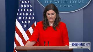 White House press briefing 07/21/17 following Sean Spicer's resignation - ABCNEWS