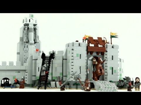 LEGO The Lord of the Rings / The Battle of Helm's Deep – Muffin Songs' Oyuncakları Tanıyalım