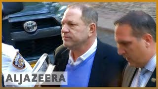 Harvey Weinstein charged with rape, sex abuse and other crimes | Al Jazeera English - ALJAZEERAENGLISH