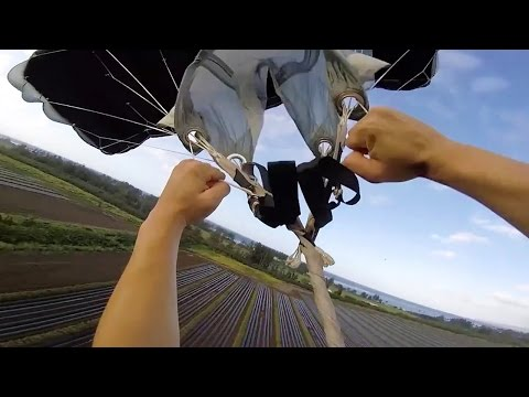 Friday Freakout: DO NOT PULL LOW - Wingsuit Pilot Can't Cutaway, Lands With Line Twists