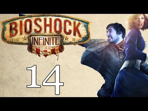 Bioshock Infinite Let's Play: Part 14 - Found the Parts! (Gameplay/Playthrough)