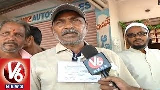 Independent Contestant Harish Chander Fighting for Justice - Adilabad - V6NEWSTELUGU