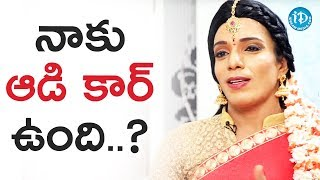 Shanthi Swaroop  About His Audi Car Rumours || Talking Movies With iDream - IDREAMMOVIES