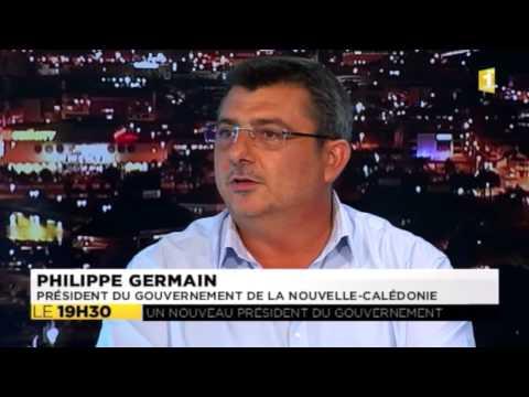 Philippe Germain invité du JT - 01-04-2015