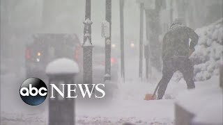Parts of East Coast buried in snow and ice - ABCNEWS