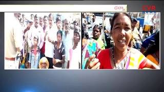 Women's Protest Against Drinking Water Problems in Anantapur district | CVR News - CVRNEWSOFFICIAL