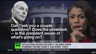 Most secure room in White House? Omarosa releases 'sacking' tape from Situation Room - RUSSIATODAY