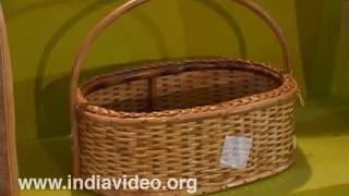 Bamboo basket Dilli haat