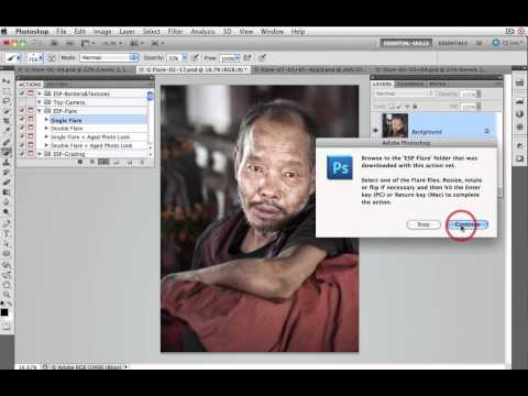 Creative Flare Photoshop Tutorial