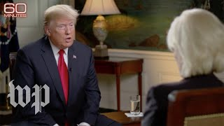 8 noteworthy moments from Trump's '60 Minutes' interview - WASHINGTONPOST