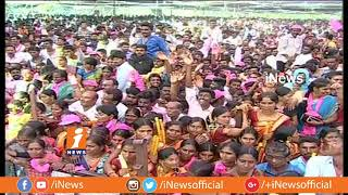 Chandrababu Writes Letter Against Sitarama Project | KCR at Praja Ashirvada Sabha | Khammam | iNews - INEWS