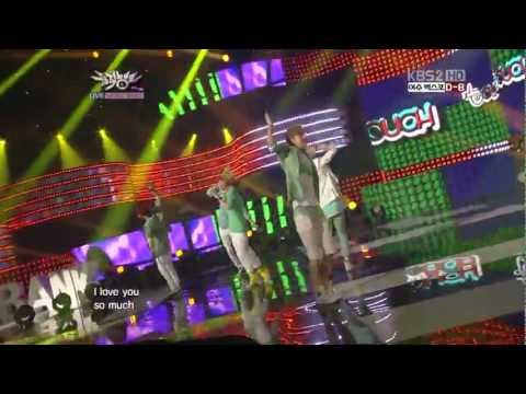 [HD 1080P] 120504 TOUCH - Let's Walk Together @ Music Bank