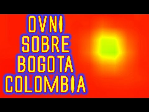 OVNIS 2014 Ovni grabado sobre Bogota, Colombia  Videos de OVNIs reales