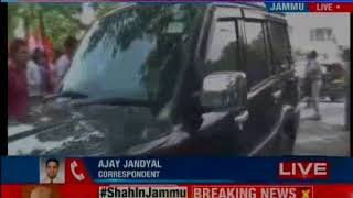 Amit Shah's crucial Jammu visit; BJP Chief to meet party workers shortly - NEWSXLIVE