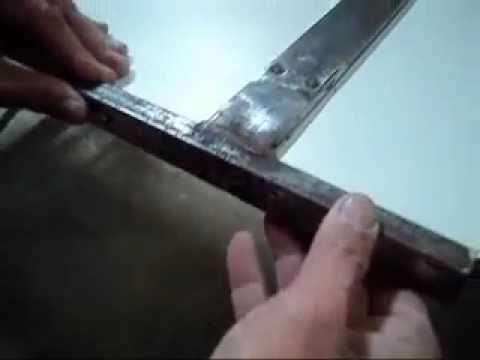 Gabarito para furar Cavilhas em placas de MDF