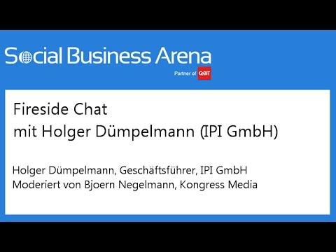 #cebitsba 2014 | Fireside-Chat mit Holger Dümpelmann (IPI GmbH)