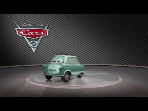 "Cars 2: Turntable ""Professor Z"""