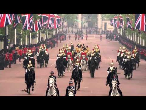 The Procession to Buckingham Palace (The Captain's Escort)