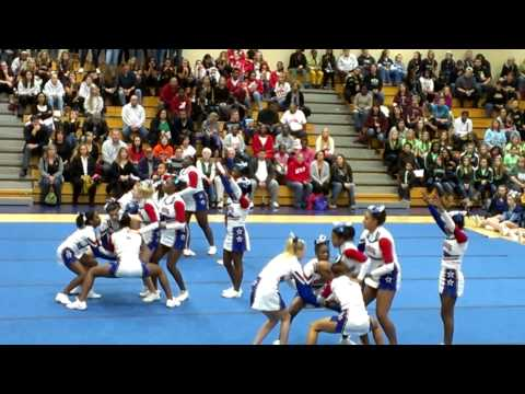 Old mill jv cheerleaders 2012 competition